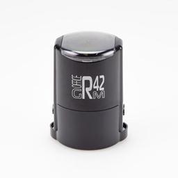 GRM R 42 office+BOX  ЧЕРНЫЙ оснастка для печати д.42