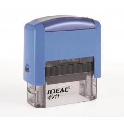 4911 IDEAL оснастка для штампа 38х14 цвет синий